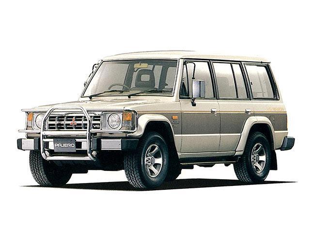 三菱 パジェロ   1989.6 - 1990.12
