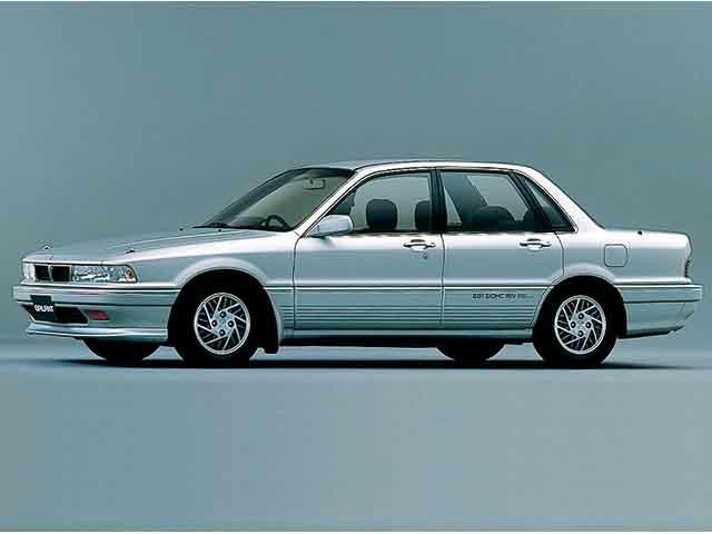 三菱 ギャラン   1989.10 - 1992.4