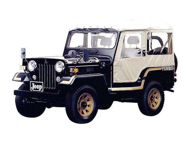 三菱 ジープ   1992.3 - 1998.6